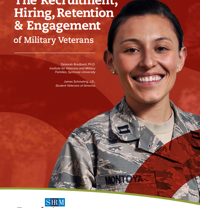 Free Veterans Guidebook for HR and Managers from the SHRM Foundation
